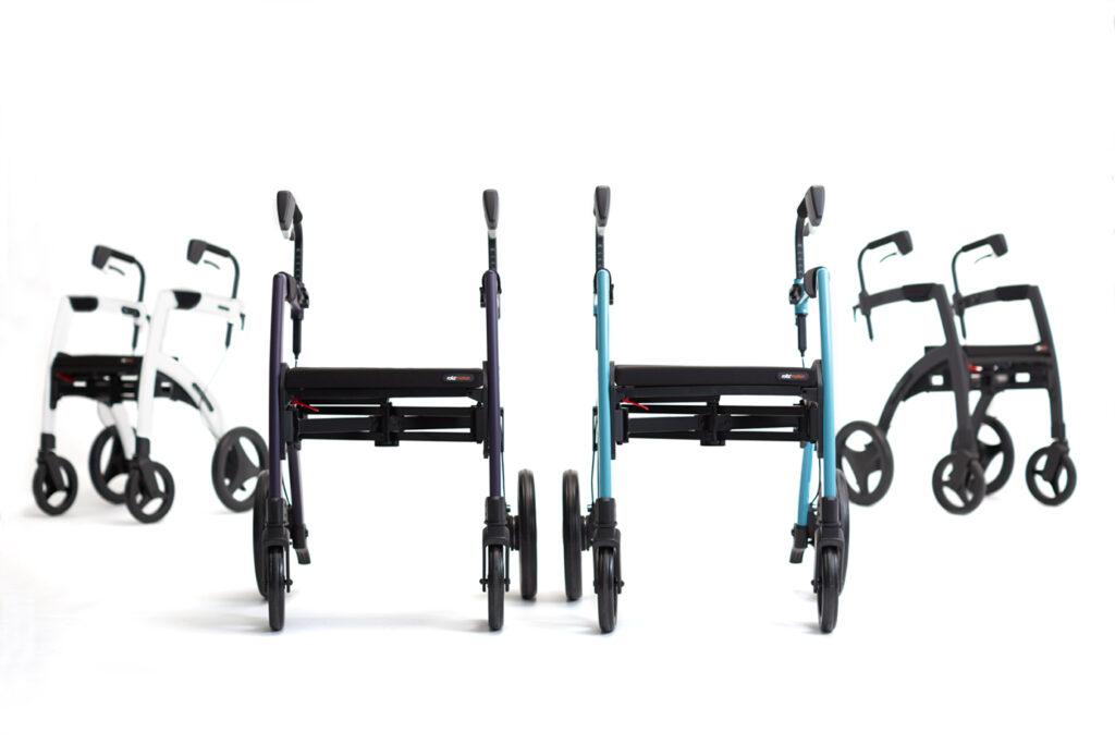 Vier kleuren mogelijk Rollz Motion rollators