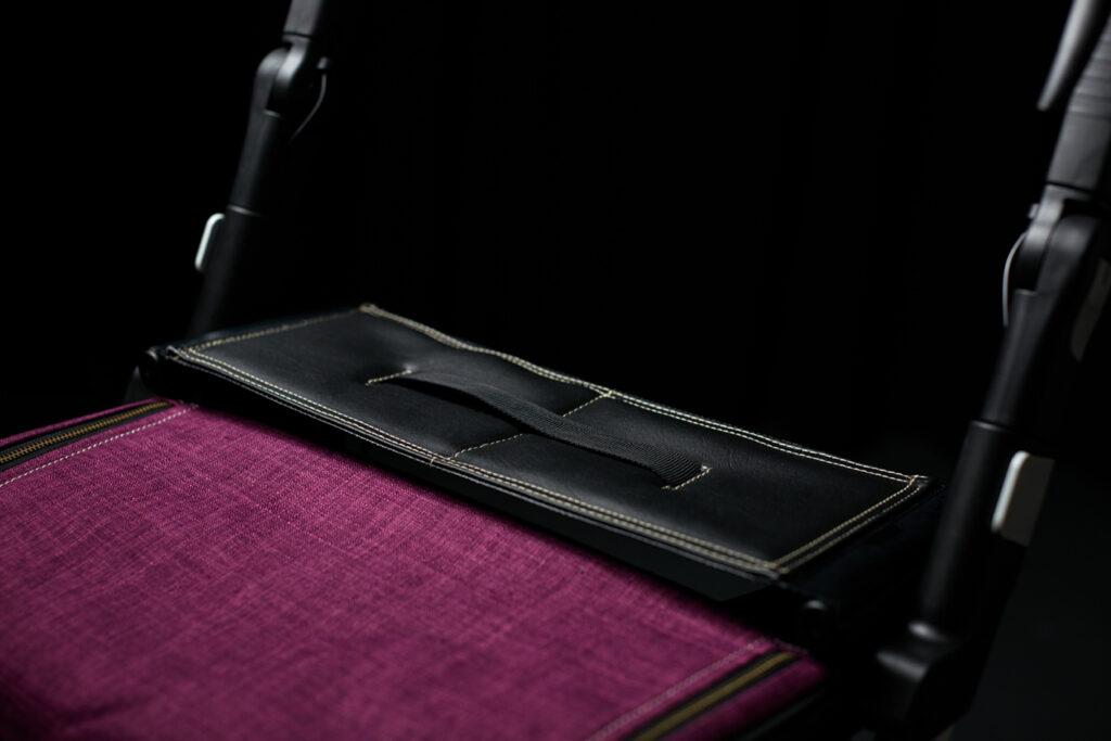 Zwarte zetel / kussen voor Rollz Flex rollator (déambulateur)