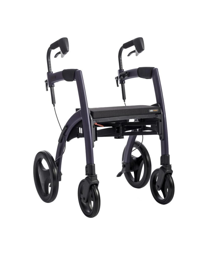 Fauteuil roulant Rollz Motion en violet