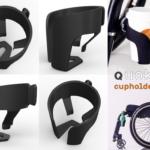Beker- of fleshouder Quokka voor je rolstoel of rollator (déambulateur)