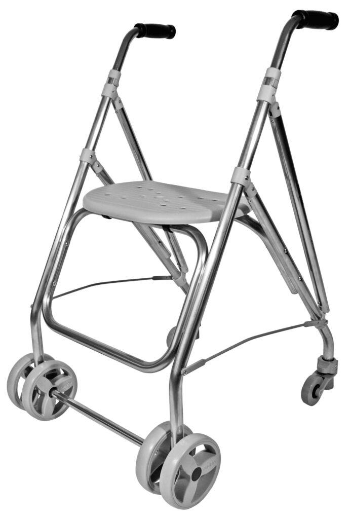 Arac looprek grijs - déambulateur