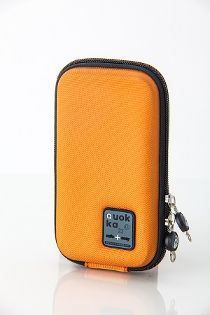 Quokka smartphone tas oranje