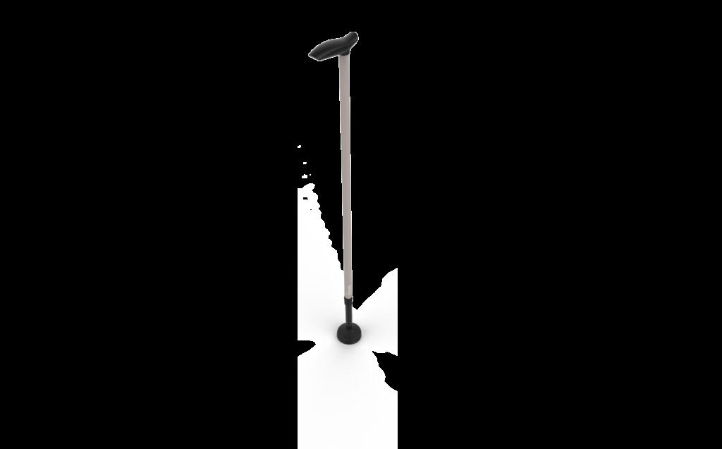 Swing Taupe 3D wandelstok