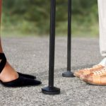 Tango wandelstok met gebruiker