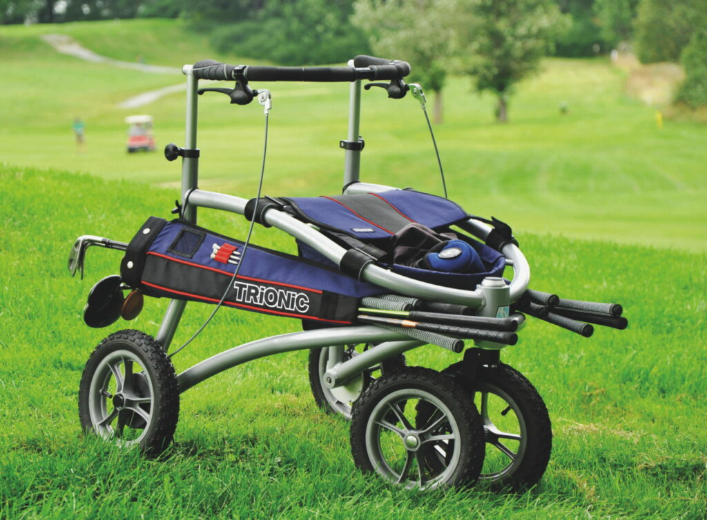 Trionic Golf rollator