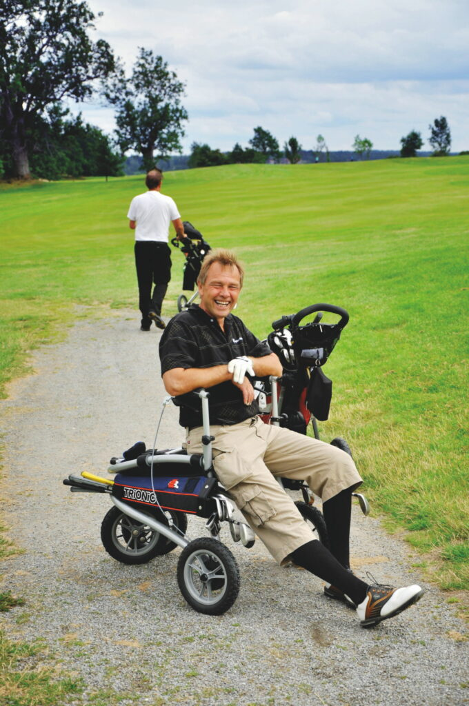 Trionic rollator Golf