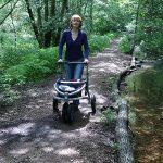 Trionic Rollator in het bos