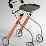 Let's Go Indoor rollator beech