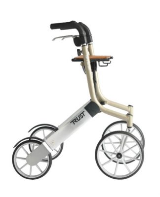 Let's Go Out rollator Beige