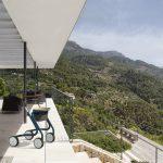 Scandinavian Butler en terrasse