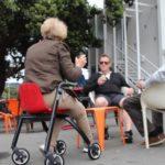 Nip Glide rollator ook geschikt om op te zitten