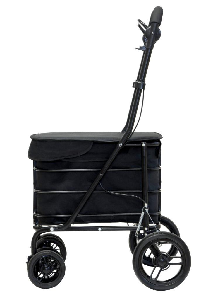 Zwarte Carlett rollator / déambulateur Carlett en noir
