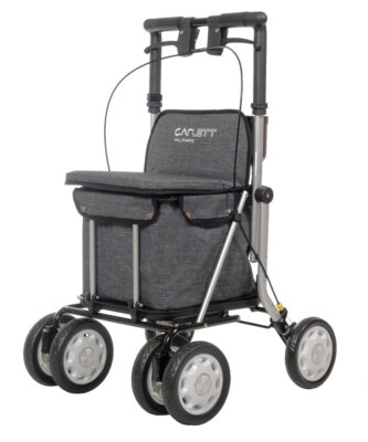 Carlett Easy Shopping déambulateur en grise