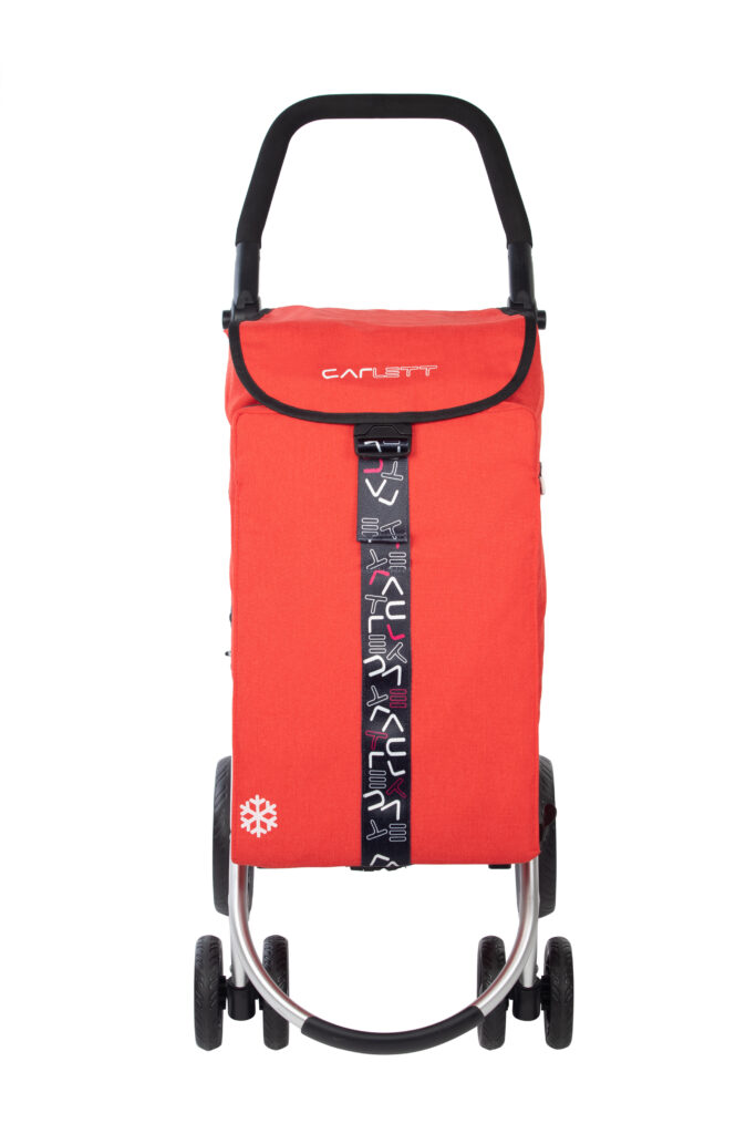 shopping trolley LETT460 front red