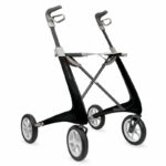 Carbon Ultralight Regular CarbonBlack byACRE perspective right Déambulateur Carbon Rollator