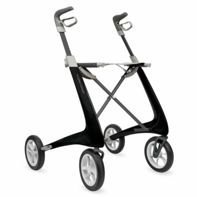 Déambulateur Carbon Ultralight noir zwart rollator