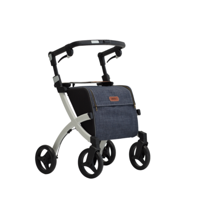 Rollz Flex Denim Grey, classic brake right - transparant