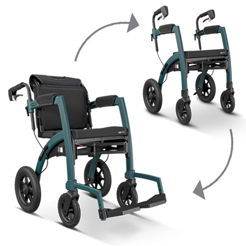 Rollz Motion Performance rollator en rolstoel