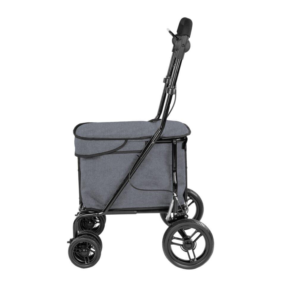 Lett700- Grijs rollator déambulateur gris