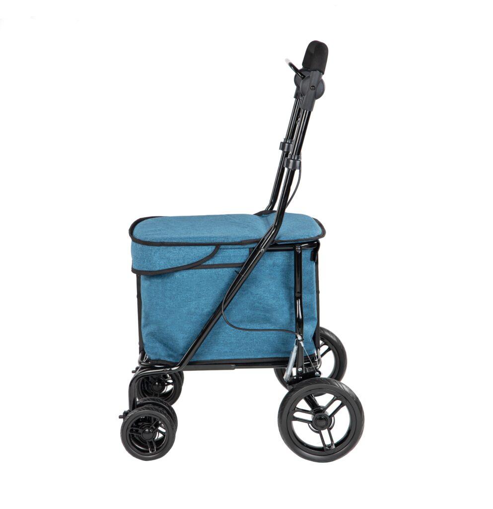 Lett700 rollator- turquoise déambulateur