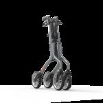 Déambulateur Let's Move rollator plié geplooid